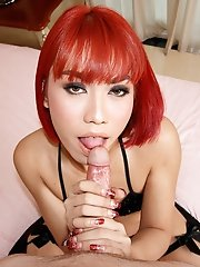 Ladyboy Many - Face Sitting Love Making Bareback